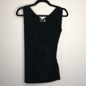 Sympli Ruched Stretch Sleeveless Top